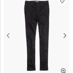 Madewell 10in High Rise Skinny in Carbondale Wash